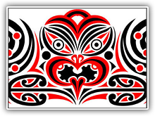 Maori Tattoo Flash